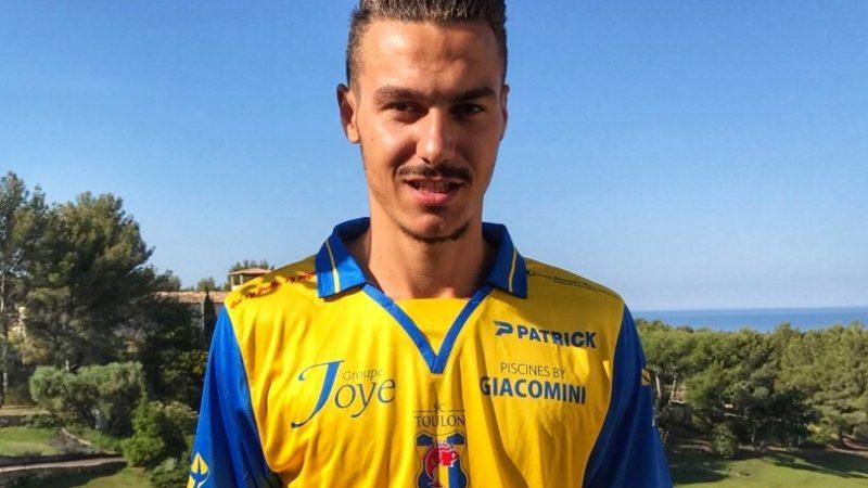 Dylan FONTANI : le jeune défenseur rejoint Toulon