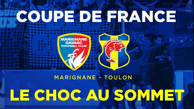 Coupe de France : Un choc d'entrée à Marignane-Gignac !