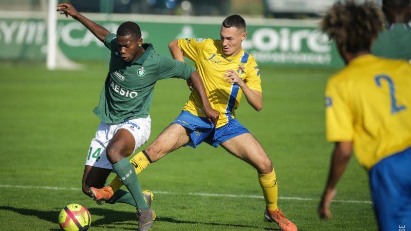 U19 Nationaux : Le Sporting a rivalisé avec l'AS St-Etienne…