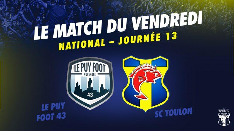 Un match à 6 points au Puy