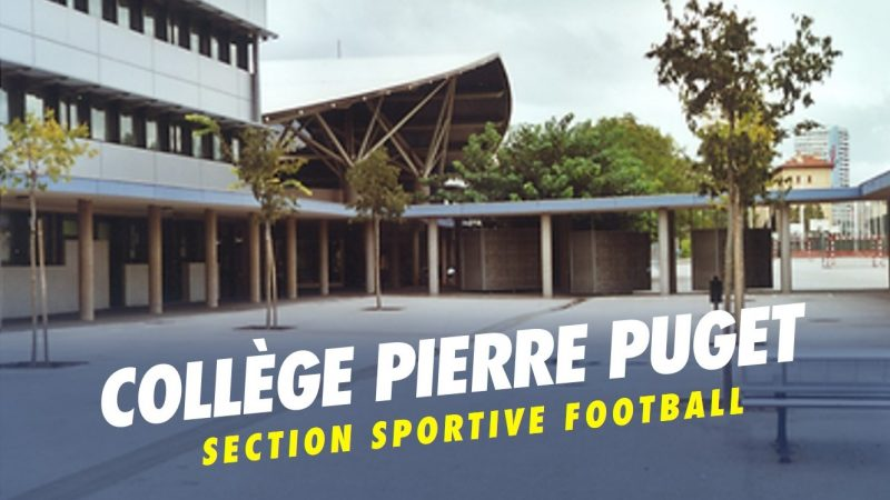 Inscriptions section sportive football : collège Pierre Puget
